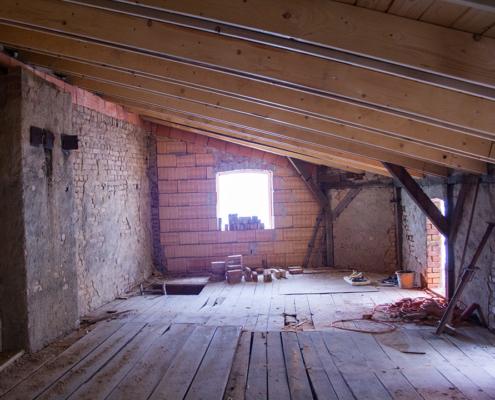 Bild Ansicht Remise - Ausbau Obergeschoss 2019