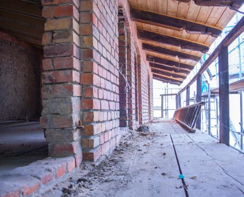 Bild Ansicht Remise - Entkernung und Sanierung 2019