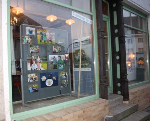 Bild Ansicht T30-Laden - Schaufenster von der Seite