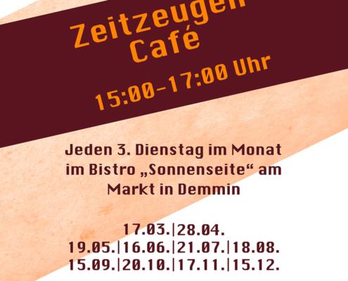 Bild Plakat Zeitzeugencafe