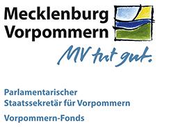 Bild - Signet Vorpommern Fonds Mecklenburg Vorpommern - Claim Parlamentarischer Staatssekretaer für Vorpommern